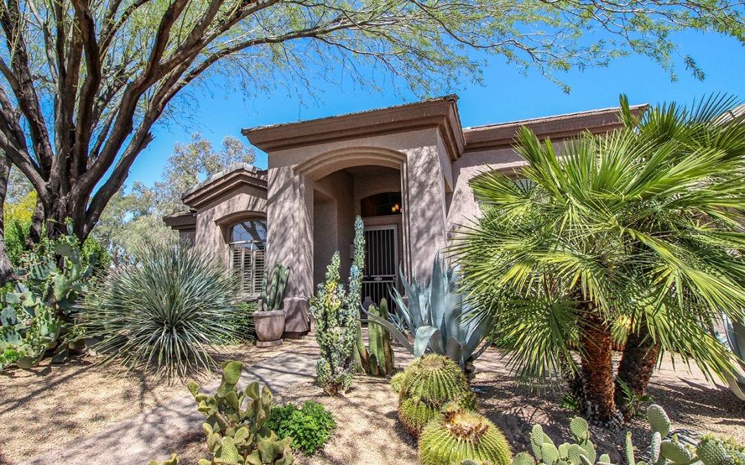 Desert landscaped home in north Scottsdale