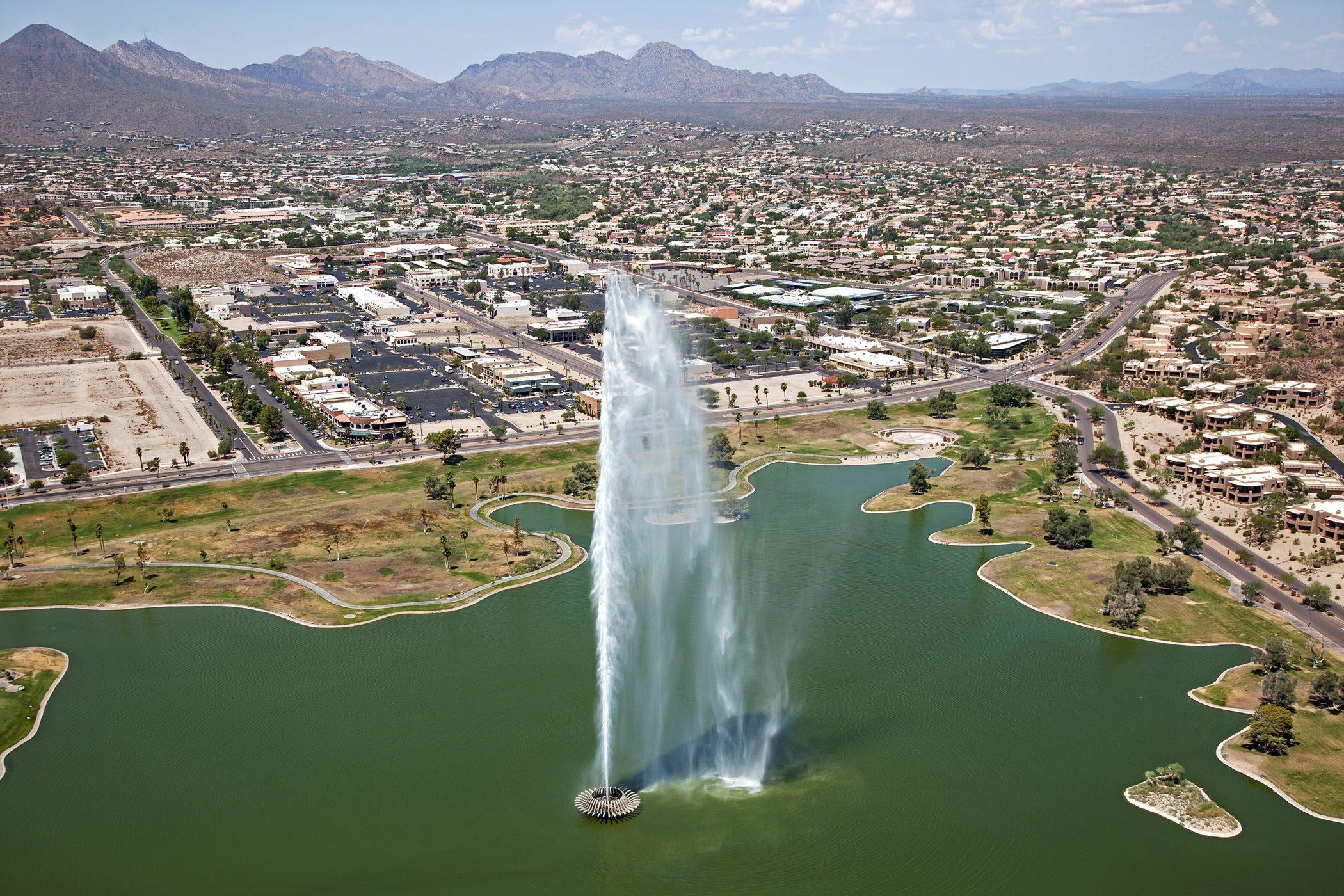 Fountain Hills Phoenix Fountain
